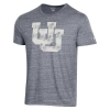 Image for Utah Utes Distressed Interlocking U T-Shirt