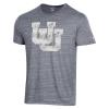 Cover Image for Utah Utes Interlocking U Faded Tee