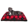 Image for Utah Utes Block U Argyle Dog Bed