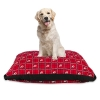 Image for Utah Utes Athletic Logo Plaid Dog Bed