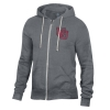 Image for Utah Utes Interlocking U Heather Grey Full Zip Sweatshirt