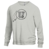 Image for Utah Utes Monochrome Athletic Logo Crew Neck Sweatshirt
