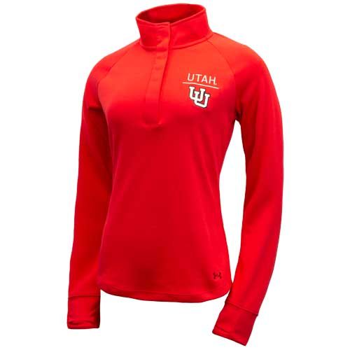 Image For Under Armour Utah Women's Snap Quarter Zip