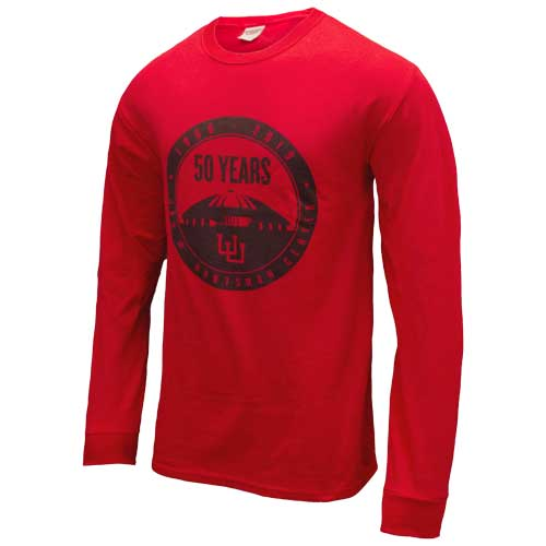 Image For Utah Utes Hunstman Center 50 Years Long Sleeve
