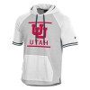 Image for Utah Utes Interlocking U Under Armour Hoodie Tee