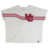 Image for Under Armour Women's Cropped Interlocking U Stripe Tee