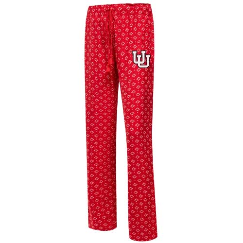 Image For Utah Interlocking U Women's Patterned Pajama Pants