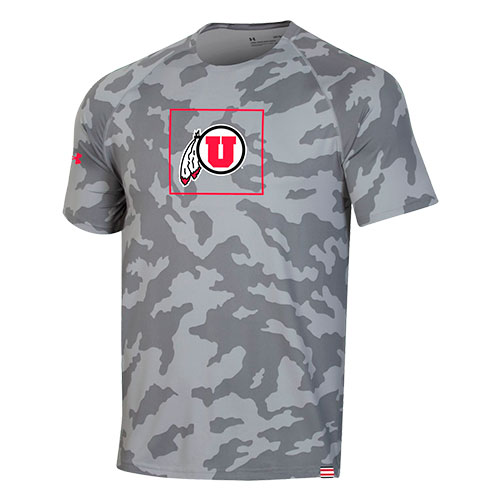 Image For Utah Utes Under Armour Sideline Training Tee