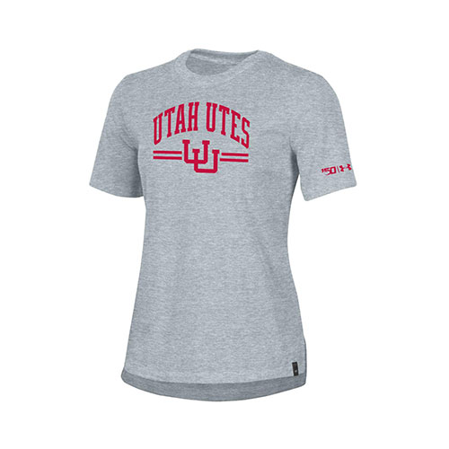 Image For Utah Utes Women's Under Armour 150 Year Tee