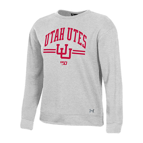 Image For Utah Utes Women's 150 Years Under Armour Crew Neck