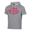 Image for Utah Utes Under Armour Football Short Sleeve Hoodie