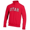 Image for Utah Utes Quarter Zip Arched Utah Jacket