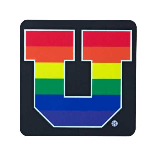 Cover Image For Utah Utes Pride U Decal