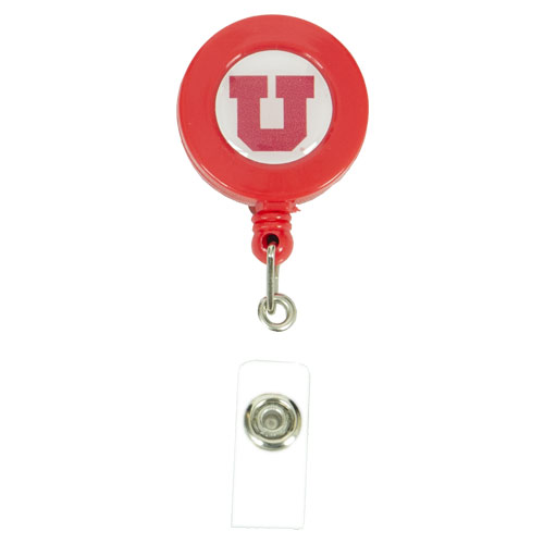 Image For Utah Utes Block U Badge Reel