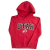 Image for Utah Utes Athletic Logo Red Youth Sweatshirt