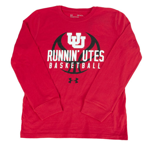 Cover Image For Interlocking U Under Armour Basketball Long Sleeve T-shirt
