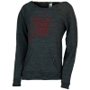 Image for Utah Utes Athletic Logo Raw Neckline Sweatshirt