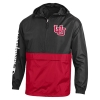 Image for Interlocking U Champion Red and Black Packable Jacket