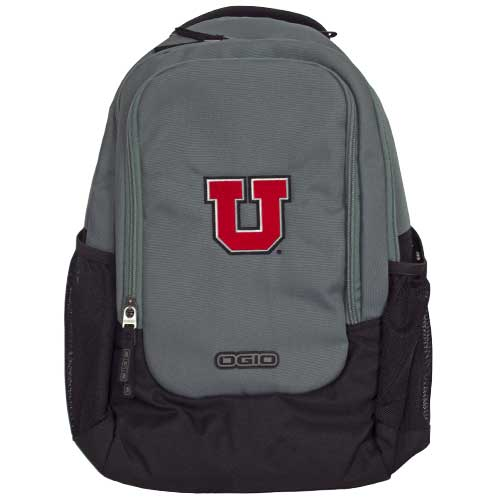 Image For Utah Utes Ogio Block U Grey Backpack