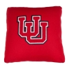 Cover Image for Univeristy of Utah Interlocking U Grey Pillow