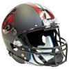 Image for Utah Utes Ute Proud Blackout Replica Helmet