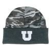 Image for Utah Utes Block U Grey Camo Legacy Beanie