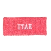 Image for Utah Utes Red Marled Ribbed Headband