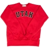 Image for Utah Utes Youth Red Crewneck