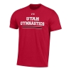 Image for Utah Utes Under Armour Gymnastics Tee