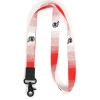 Image for Utah Utes Gradient Lanyard Red and White