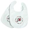 Image for Utah Utes Baby Bib Athletic Logo Two Pack