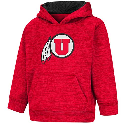 Image For Utah Utes Athletic Logo Toddler Heather Hoodie