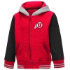 Image for Utah Utes Athletic Logo Toddler Tricolor Varsity Jacket