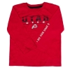 Image for Utah Utes Red Youth Long Sleeve Shirt