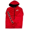 Image for Youth Full Zip Athletic Logo Heathered Hoodie