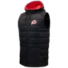 Image for Utah Utes Athletic Logo Black Hooded Vest