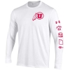 Image for Utah Utes Under Armour Athletic Logo Long Sleeve T-shirt