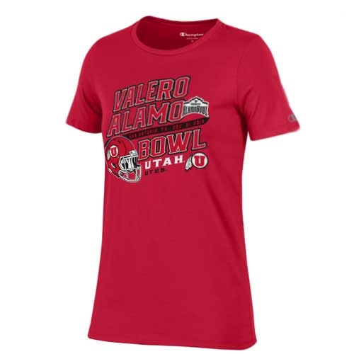 Image For Utah Utes Alamo Bowl Women's Short Sleeve T-shirt