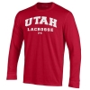 Image for Under Armour Utah Lacrosse Arched Long Sleeve