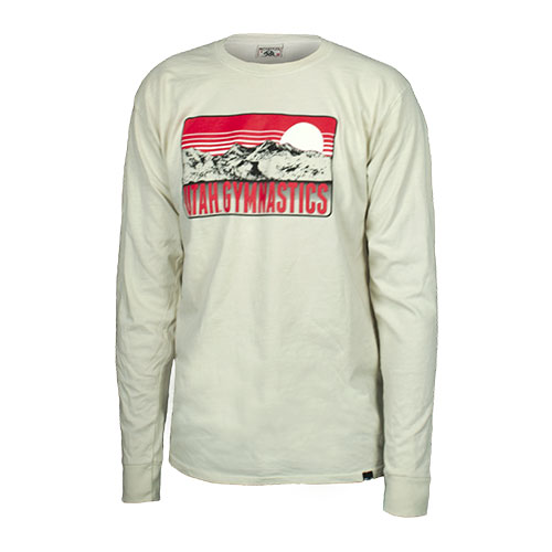 Image For Utah Utes Long Sleeve Gymnastics T-Shirt