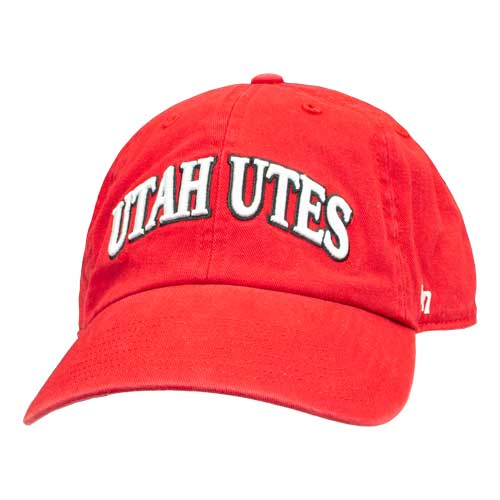 Cover Image For Utah Utes Arched Adjustable Hat