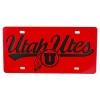 Image for University of Utah Athletic Logo Metal License Plate Frame