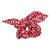 Image for Utah Utes Repeating Design Hair Scrunchie