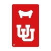 Image for U of U Red Metal Bottle Opener