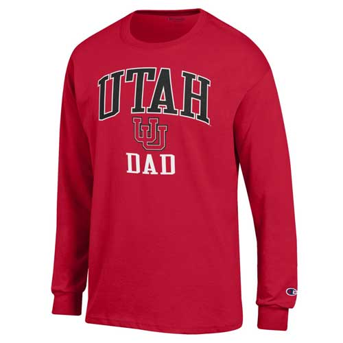 Image For Utah Utes Interlocking U Dad Long Sleeve