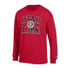 Image for Utah Utes Red Long-Sleeve Alumni Medallion T-Shirt
