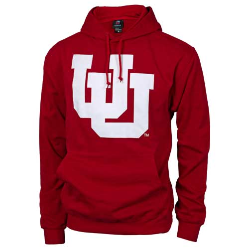 Image For Utah Utes Interlocking U Hooded Sweatshirt