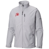 Image for Utah Utes Light Grey Columbia Zip-Up Jacket