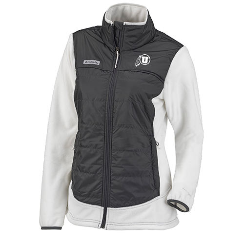 Image For Utah Utes Columbia Athletic Logo Full Zip Women's Jacket