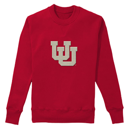 Image For Utah Utes Women's Interlocking U Sweater